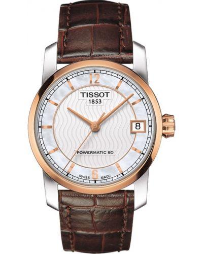 Mens Tissot Titanium Auto Powermatic 80 strap T087.407.56.037.00 Watch