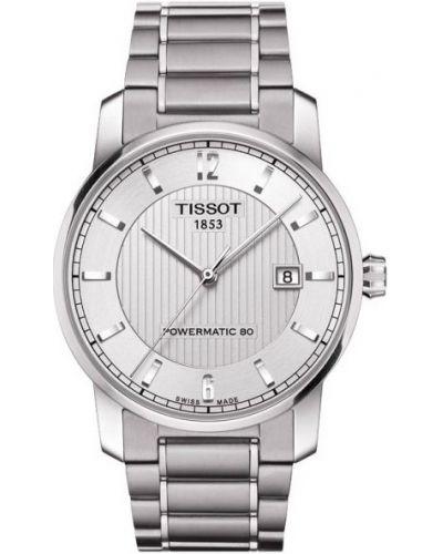 Mens Tissot Titanium Auto Powermatic 80 Steel T087.407.44.037.00 Watch