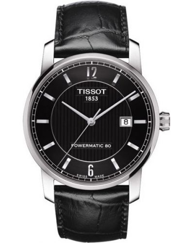 Mens Tissot Titanium Auto Powermatic 80 Strap T087.407.46.057.00 Watch
