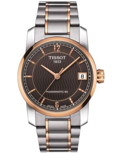 Womens Tissot Titanium Auto Powermatic 80 Two tone T087.207.55.297.00 Watch