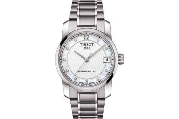 Womens Tissot Titanium Watch T087.207.44.116.00