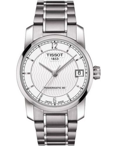 Womens Tissot Titanium Auto Powermatic 80 Steel T087.207.44.037.00 Watch