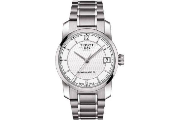 Womens Tissot Titanium Watch T087.207.44.037.00