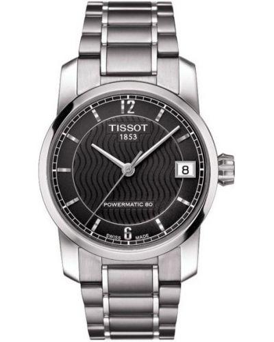 Womens Tissot Titanium Auto Powermatic 80 Steel T087.207.44.057.00 Watch