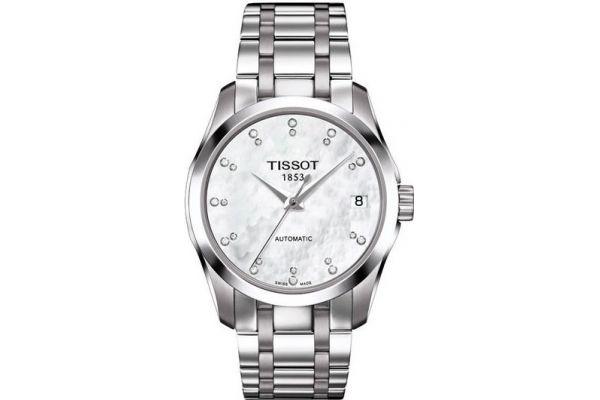Womens Tissot Couturier Watch T035.207.11.116.00