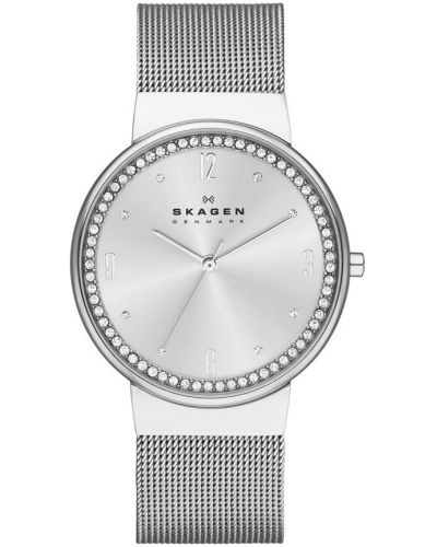 Womens Skagen Ancher crystal set milanese strap SKW2152 Watch