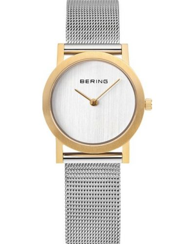 Womens Bering Classic stainless steel gold plated milanese strap 13427-010 Watch