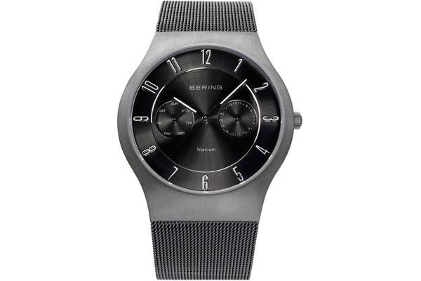 Mens Bering Titanium Watch 11939-077