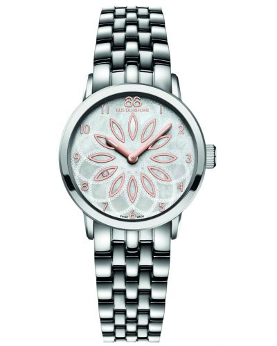 Womens 88 Rue Du Rhone 29mm Quartz Rose gold petal stainless steel 87WA140007 Watch