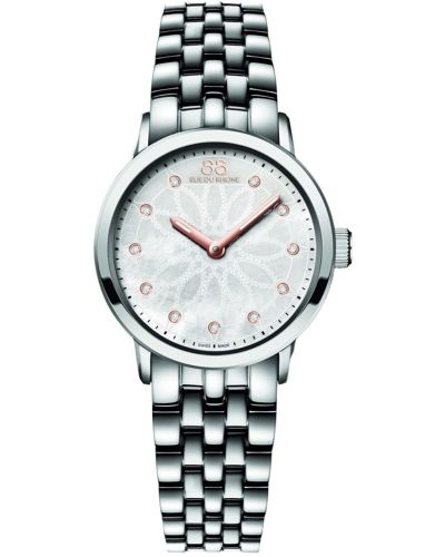 Womens 88 Rue Du Rhone 29mm Quartz Diamond mother of pearl stainless steel 87WA140008 Watch