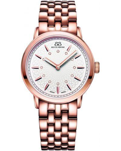 Womens 88 Rue Du Rhone 35mm Quartz Diamond set rose gold 87WA120013 Watch