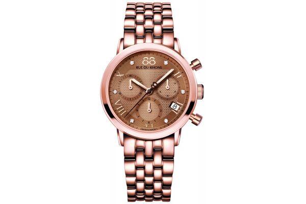 Womens 88 Rue Du Rhone 35mm Quartz Chronograph Watch 87WA130033