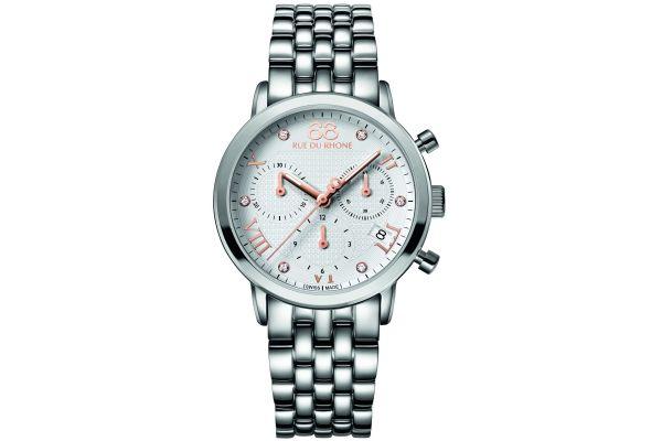 Womens 88 Rue Du Rhone 35mm Quartz Chronograph Watch 87WA130034