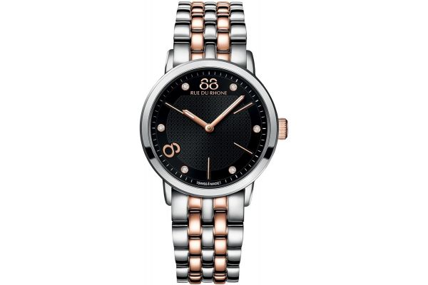 Womens 88 Rue Du Rhone 35mm Quartz Watch 87WA140003