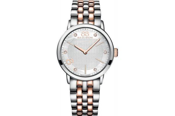Womens 88 Rue Du Rhone 35mm Quartz Watch 87WA140005