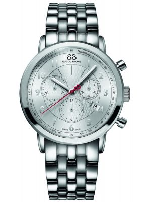 Mens 88 Rue Du Rhone 42mm Quartz Chronograph Stainless steel  87WA120044 Watch
