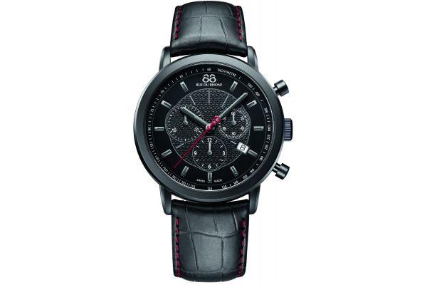Mens 88 Rue Du Rhone 42mm Quartz Chronograph Watch 87WA120046