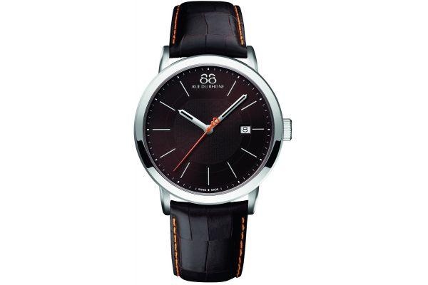 Mens 88 Rue Du Rhone 42mm Quartz Watch 87WA140022