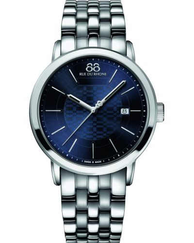 Mens 88 Rue Du Rhone 42mm Quartz Blue stainless steel 87WA140024 Watch