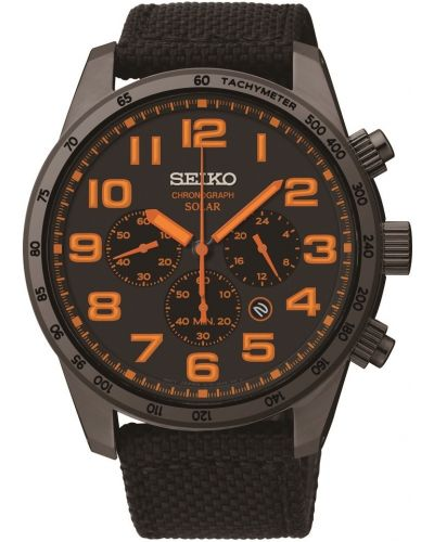 Mens Seiko Solar Chronograph SSC233P9 Watch