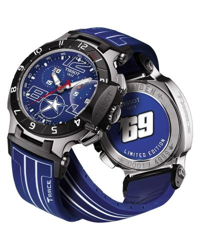Mens Tissot T Race Nicky Hayden Limited Edition 2014 T048.417.27.047.00 Watch