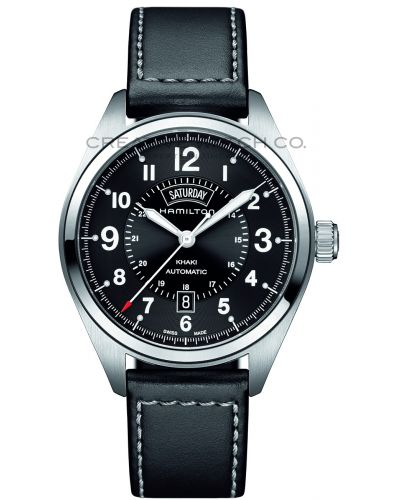 Mens Hamilton Khaki Field Day Date H70505733 Watch