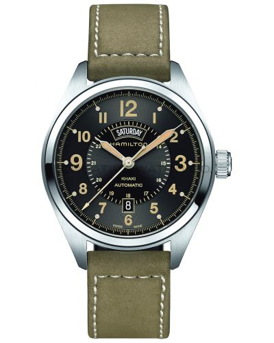 Mens Hamilton Khaki Field Day Date H70505833 Watch
