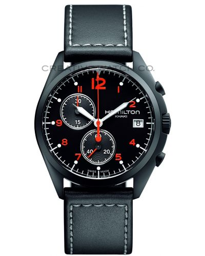 Mens Hamilton Khaki Aviation Pilot Pioneer H76582733 Watch