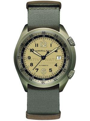Mens Hamilton Khaki Aviation Pilot Pioneer Aluminium H80435895 Watch