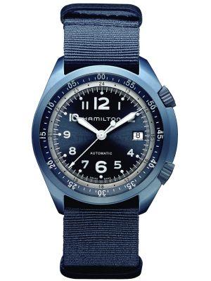 Mens Hamilton Khaki Aviation Pilot Pioneer Aluminium H80495845 Watch
