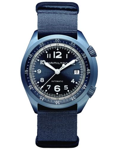 Mens Hamilton Khaki Aviation Pilot Pioneer Aluminium H80495845 Watch