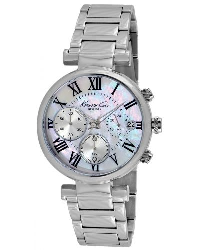 Womens Kenneth Cole Dress Sport Stainless steel mother of pearl KC4971 Watch