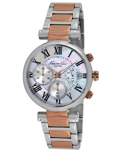 Womens Kenneth Cole Dress Sport Stainless steel rose gold KC4970 Watch