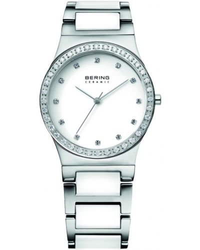 Womens Bering Classic swarovski stainless steel white 32435-754 Watch