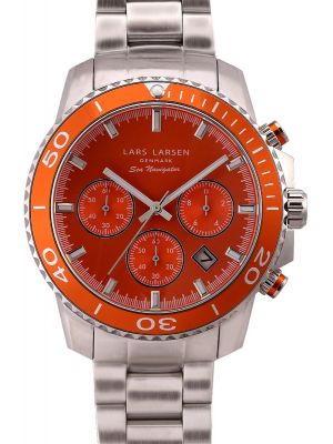 Mens Lars Larsen Sea Navigator Sport 134SOSB Watch