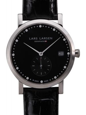Womens Lars Larsen Emma Steel 137SBBL Watch