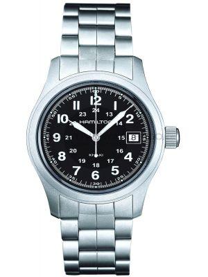 Mens Hamilton Khaki Field Quartz H68411133 Watch