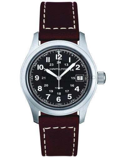 Mens Hamilton Khaki Field Quartz H68411533 Watch