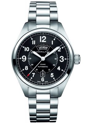 Mens Hamilton Khaki Field Day-Date H70505133 Watch