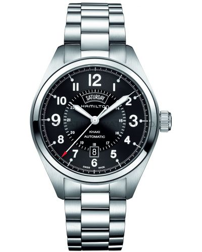 Mens Hamilton Khaki Field Day-Date H70505133 Watch