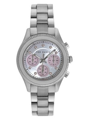Womens Ted Baker Stainless steel chronograph TE4108 Watch