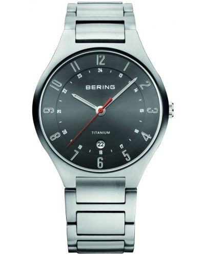 Mens Bering Titanium Grey  11739-772 Watch
