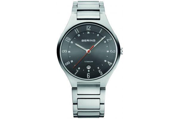 Mens Bering Titanium Watch 11739-772
