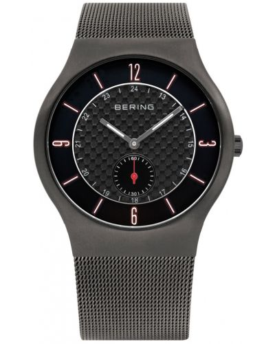 Mens Bering Classic Black Milanese strap 11940-377 Watch
