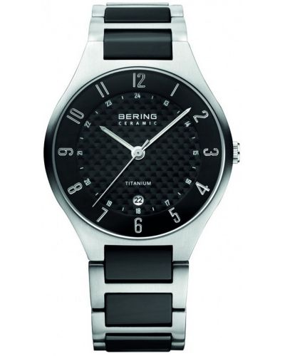 Mens Bering Titanium Ceramic carbon  11739-702 Watch