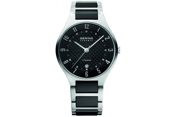 Mens Bering Titanium Watch 11739-702