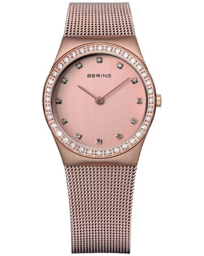Womens Bering Classic rose gold crystal set 12430-366 Watch