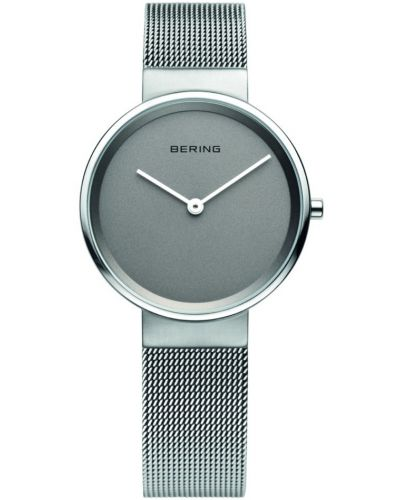 Womens Bering Classic Plain stainless steel milanese strap 14531-077 Watch