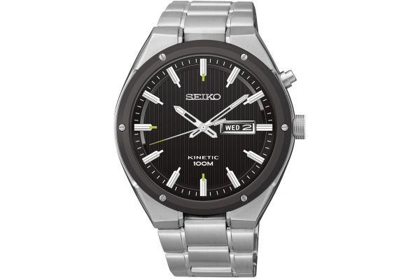 Mens Seiko Kinetic Watch SMY151P1
