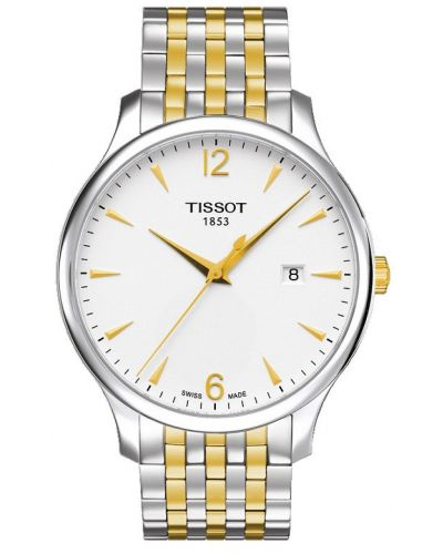 Mens Tissot Tradition Two tone T063.610.22.037.00 Watch